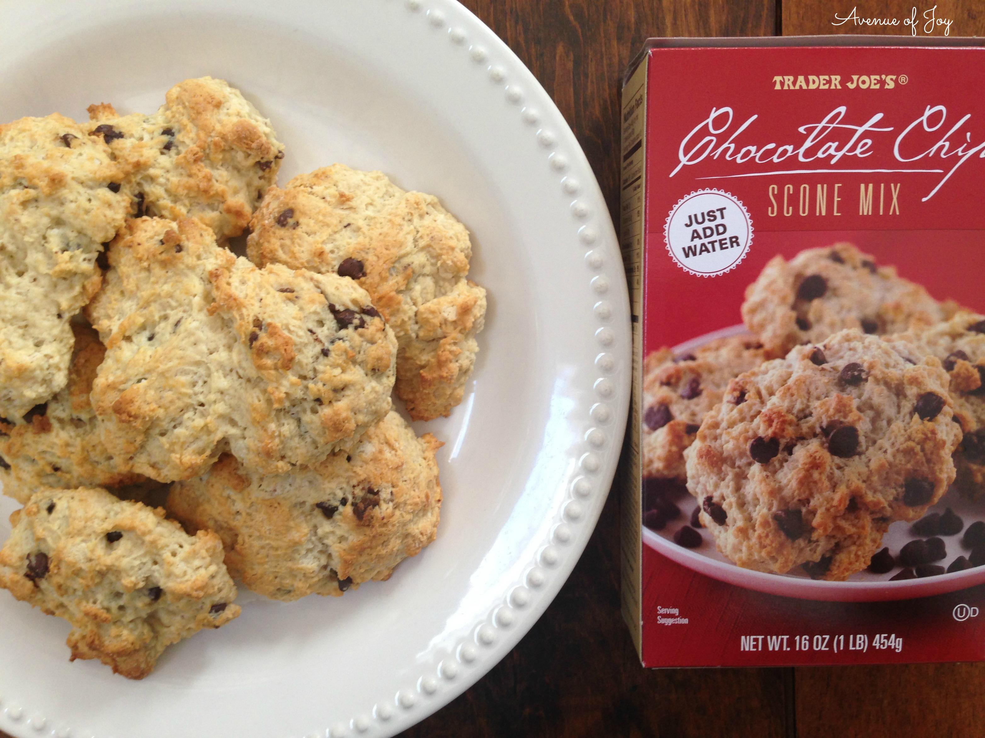 chocolate chip scones – Avenue of Joy