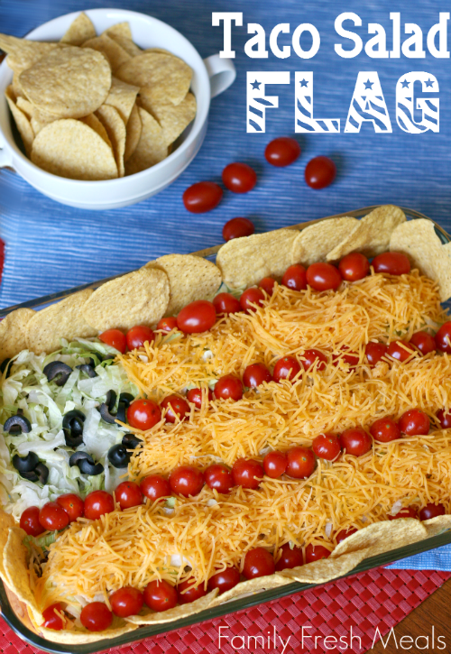Easy-Taco-Salad-Flag
