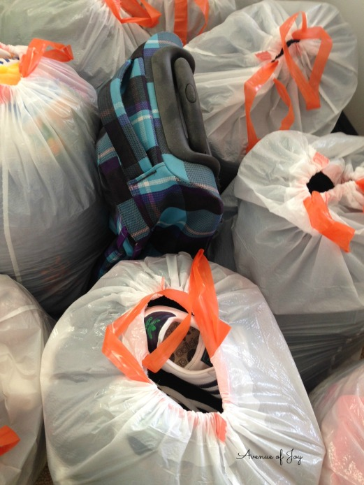 purged closet haul