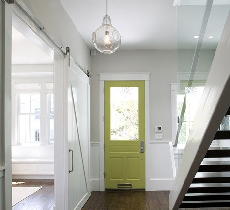 Pops of color for interior front doors avenue of joy for Painted interior doors