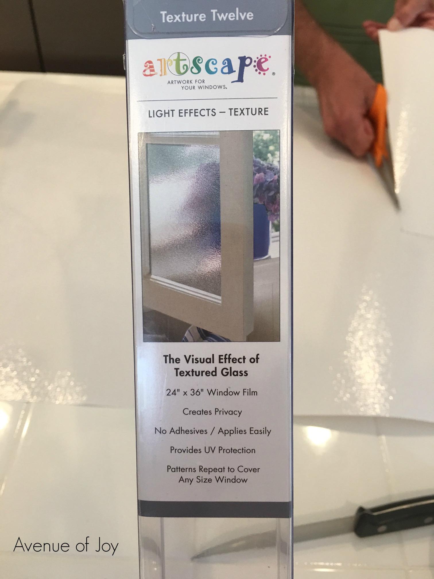 DIY Privacy Solution For Bathroom Windows – Avenue of Joy